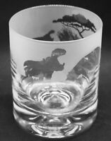 HIPPO Frieze Boxed 30cl Glass Whisky Tumbler