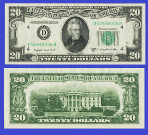 Usa 20 dollars 1950 UNC - Reproduction