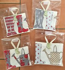 Gardeners Hand Made Fabric Bags filled with French Dried Lavender Buds -gift