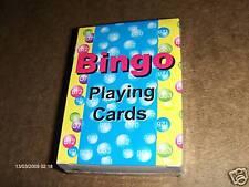 Professional Playing Card Bingo Game Call Deck & 100 Reusable Bingo Cards
