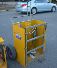 East West engineering GCN-2  Oxy bottle Gas cutting trolley crane liftable