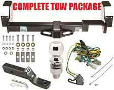 02-07 BUICK RENDEZVOUS / 01-05 PONTIAC AZTEK COMPLETE TRAILER HITCH TOW PACKAGE