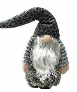 Gray Fuzzy Gnome Plush 20 Inch