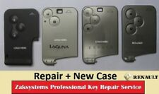 Renault Key Card Repair Fix Service Megane Laguna Espace.  Includes a NEW CASE