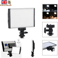 144 LED Video Light Photo Studio Dimmable Lamp Panel For DSLR Camera Camcorder