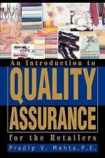 An Introduction to Quality Assurance for the Retailers by Pradip Mehta (2004,...