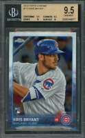 2015 topps chrome #112 KRIS BRYANT chicago cubs rookie BGS 9.5 (9.5 9.5 10 10)