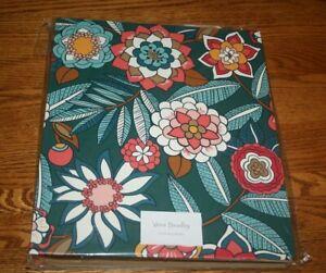 Vera Bradley Notebook 3 Ring Binder Tropical Evening school campus gray RARE NEW