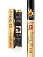 EVELINE Wimpernwachstum SOS LASH BOOSTER mit Arganöl 5in1 Wimpernserum 10ml