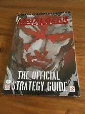 Metal Gear Solid Official Strategy Guide Paperback Rare Console Video Game Ps1