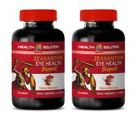 eye health supplement - Zeaxanthin Eye Health - marigold antioxidant 2 Bottles