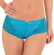 Lepel Daisy Lace Short Turquoise Size 10 New
