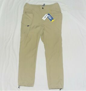 AFTCO Men's Gamma Ray Fishing Pant MP82 Khaki Size 34W x 30L Brand New with Tags