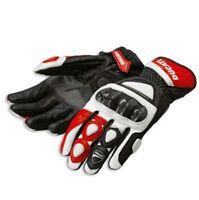Ducati Spidi Sport C2 Racing Leather Gloves Medium