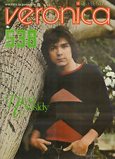 VERONICA 1972 nr. 45 - DAVID CASSIDY/ELVIS PRESLEY/ZUSJES DE ROO/JAN TUF/TOP 40