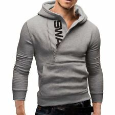 Fashion Men's Winter Hoodie Warm Hooded Sweatshirt Sweater Coat Jacket Outwear