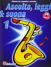 DE HASKE ASCOLTA LEGGI E SUONA 1 METODO PER SASSOFONO CONTRALTO CD J.KASTELEIN