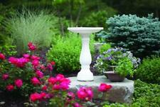 "25"" Bird Bath- Grey Or White -Next Day Shipping From US Supplier"