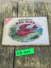 1800s+WEILAND%27S+RED+WING+CIGAR+BOX+LID