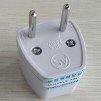 Universal UK/US/AU to EU European Travel Power Adapter Plug converter useful
