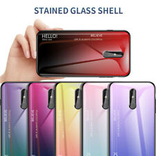 For Nokia X71 1 Plus 4.2 X7 3.1 Luxury Gradient Tempered Glass Hard Case Cover