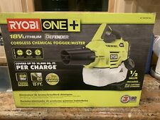 ✔️RYOBI One+ 18V Cordless Chemical Fogger with Battery/Charger Free Shipping✔️