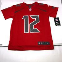 Tom Brady #12 Tampa Bay Buccaneers Vapor Jersey Red Youth Small