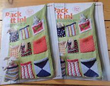 Knitting pattern per TOY Organizzatore. parte 1 e 2