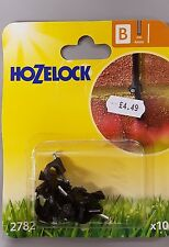 Pack of 10 Hozelock B 2782 Watering System / Irrigation Parts