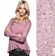 Y Neck Long Sleeve Casual Tops & Shirts for Women