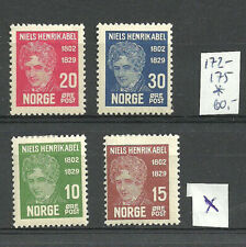 Norway. Old stamps. ABEL.