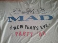 MADNESS RARE T SHIRT MAD NOT MAD NEW YEARS PARTY 1985 33 YEARS OLD RARE MADNESS