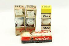 New Vintage Spalding 1984 Top-Flite / Wilson Staff (Scotland) K-28 Golf Ball Lot