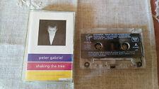 PETER GABRIEL SHAKING THE TREE CINTA TAPE CASSETTE K7 SPANISH EDIT 1980 VIRGIN