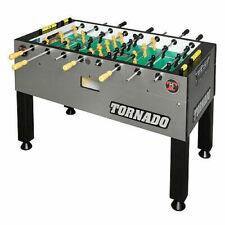 Tornado T-3000 Platinum Foosball Table - Silver
