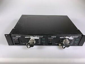 Dual Telecast HDX SMPTE Box - Camera Chain Fiber Two Boxes