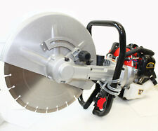 "2 Stroke Gas Power Handheld 14"" Cement Wet Dry Masonry Concrete Cut Saw W/Blade"