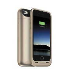 Authentic Mophie Juice Pack Air iPhone 6/6s (NOT 6 PLUS) 100% Battery -Gold -NEW