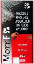 4x Morr-F 5% Minoxidil Hair Regrowth FDA Approved DHT Blocker -(60 ml)