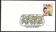 US 4469 Sunday Funnies Archie DCP FDC 2010