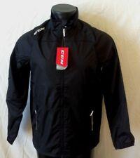 CCM Hockey Lightweight Rink Suit Jacket-Black Senior/Adult Size M