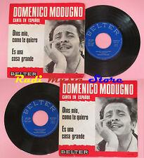 LP 45 7'' DOMENICO MODUGNO Dios mio como te quiero Es una cosa grande cd mc dvd