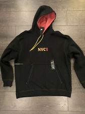 Nike NYC Chinatown Hoodie Black CW4777-010 New York City Men Size XL Heavyweight