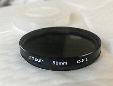Jessop VINTAGE 58mm Filtro Polarizzatore
