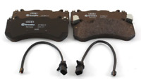 NEW GENUINE AUDI RS6 2008-2011 FRONT BRAKE PADS 4F0698151H WITH SENSORS