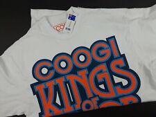 Coogi Mens Shirt King Of Color Sz L Crew Neck Short Sleeve