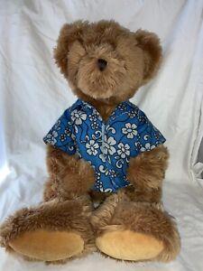 "RUSS Hawaiian Beachwear 20"" Plush Bear Collectible Stuffed Animal Gift"