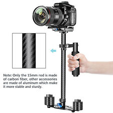 "Neewer Carbon Fiber 24""/60cm Handheld Stabilizer with Quick Release Plate(Black)"