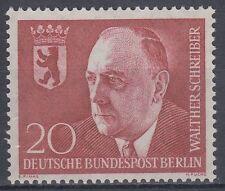 Germany Berlin 1959 ** Mi.192 Politker Politican | Dr. Walther Schreiber.