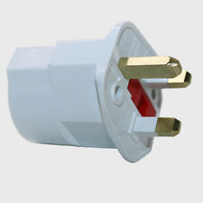 European Euro EU 2 Pin to UK 3 Pin Plug Adaptor Travel Mains Adapter CY2